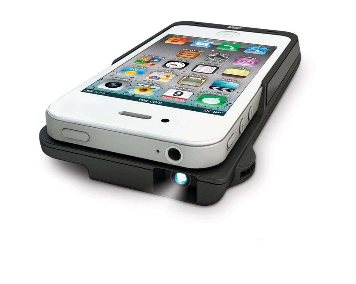 Projector sleeve for iphone 4 4s like want have for Iphone pocket projector best buy